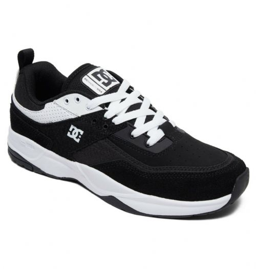 DC SHOES MENS TRAINERS.TRIBEKA ORTHOLITE BLACK SUEDE RUBBER SOLE SKATE SHOES 9S